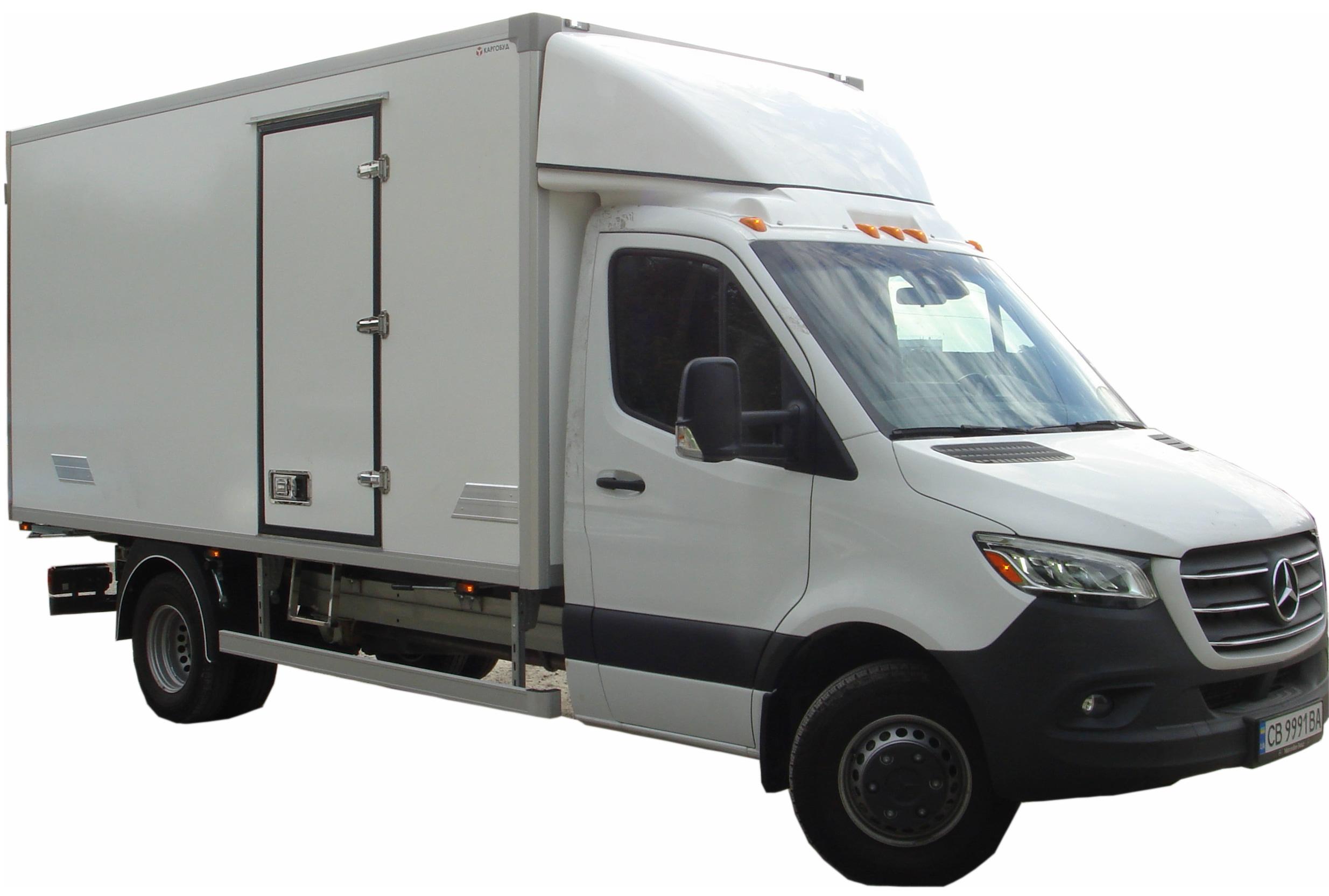 Рефрижераторный кузов изотермический фургон