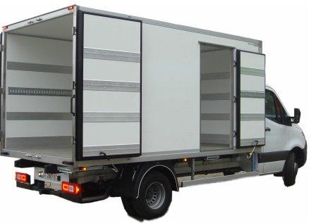 Изотермический кузов рефрижераторный фургон